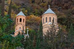 Mama Daviti church, mount Mtatsminda in Tbilisi, Georiga