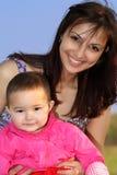 Mama e hija imagen de archivo