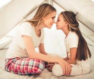 Mama e hija fotografía de archivo