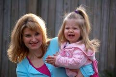 Mama en me Stock Foto
