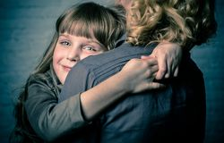 Mama i córka Fotografia Stock