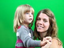 Mama i córka Obrazy Royalty Free