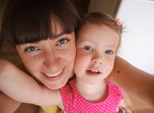 Mama i córka Obraz Royalty Free