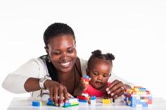 Mama i dziecko Zdjęcia Royalty Free