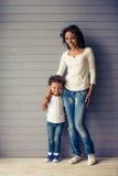 Mama i dziecko Zdjęcie Stock