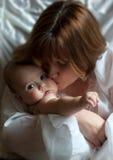 mama jest pocałunek Obrazy Royalty Free
