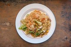 Mama Smażący Chmielny morze, Thaifood w Chiang Mai zdjęcia stock