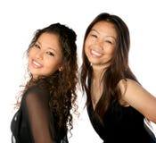 Mama tailandesa hermosa con la hija Fotos de archivo