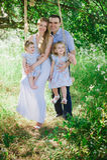 Mama, tata i Obraz Royalty Free