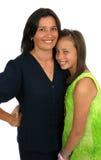 Mama und Daugther glücklich Lizenzfreies Stockfoto