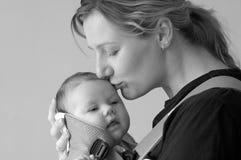 Mama und Tochter Stockfotografie