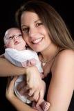 Mama y bebé Imagenes de archivo
