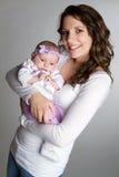 Mama y bebé Fotos de archivo