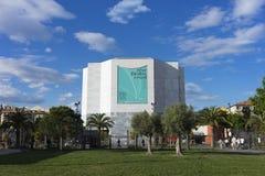 MAMAC,尼斯,法国 免版税图库摄影