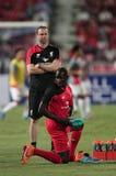 Mamadou Sakho von Liverpool Stockfotografie