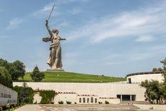 Mamaev Kurgan in Volgograd stock photos