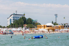 Mamaia Beach Stock Photography