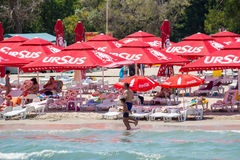 Mamaia Beach Stock Image