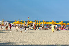 Mamaia beach, Romania Royalty Free Stock Images