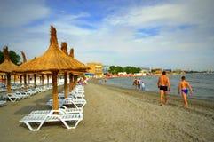 Mamaia beach ,Romania Stock Photography