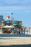 Mamaia beach view Royalty Free Stock Photos