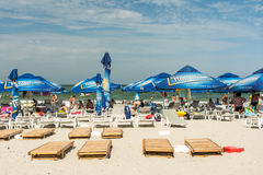 Mamaia Beach View Royalty Free Stock Images
