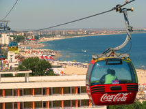 Mamaia Black Sea Resort (Romania). Seen from the telegondola Stock Photos