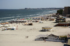 Mamaia Black Sea Resort (Romania) Stock Photo