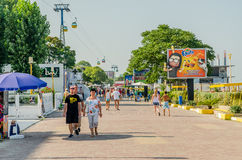 Mamaia Resort Royalty Free Stock Photography