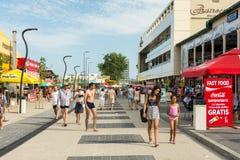 Mamaia Resort View At The Black Sea Stock Image