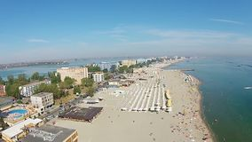 Mamaia , Romania, aerial view