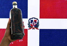 Mamajuana, the Dominican Republic Roots Beverage Stock Image