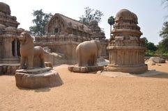 Mamallapuram,印度 库存图片