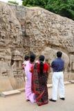 Mamallapuram Entlastung Stockfotografie