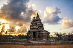 Mamallapuram-Monumente stockfotografie