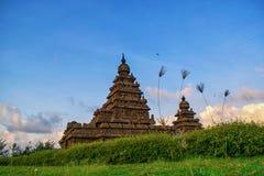 Mamallapuram-Monumente stockbilder