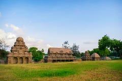 Mamallapuram-Monumente stockfotos