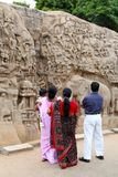 Mamallapuram relief Stock Photography