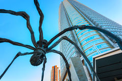 Free Maman - A Spider Sculpture At Mori Tower Building In Tokyo Royalty Free Stock Images - 73520119