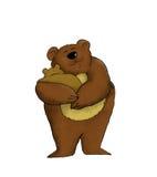 Maman Bear illustration stock
