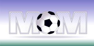 Maman du football Photographie stock libre de droits