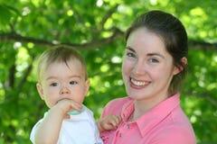 Maman et bébé 2 photos stock