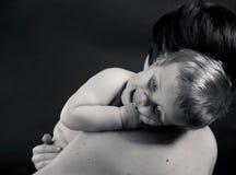 Maman et bébé Photographie stock libre de droits