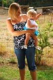 Maman et chéri Photographie stock libre de droits