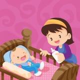 Maman et chéri illustration libre de droits