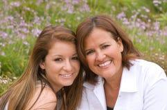 Maman et descendant Photo libre de droits