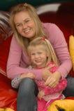 Maman et descendant Photo stock