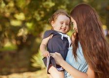 Maman et fille photo libre de droits