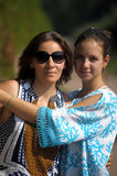 Maman et fille adolescente Photo stock
