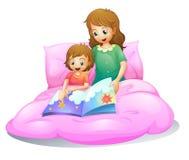Maman et gosse illustration libre de droits